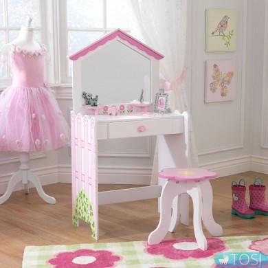 Туалетный столик KidKraft Vanity & Stool 13035