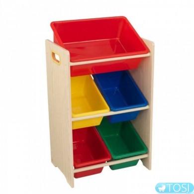 Этажерка для игрушек Kidkraft 15472