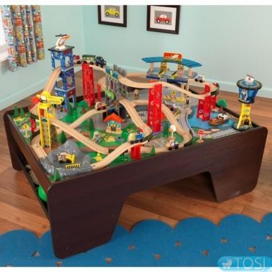 Железная дорога KidKraft Super Highway Train 17986