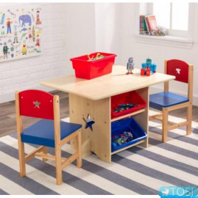 Стол и 2 стульчика KidKraft Star 26912