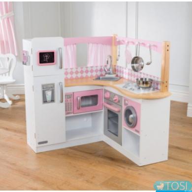 Угловая детская кухня KidKraft Grand Gourmet 53185