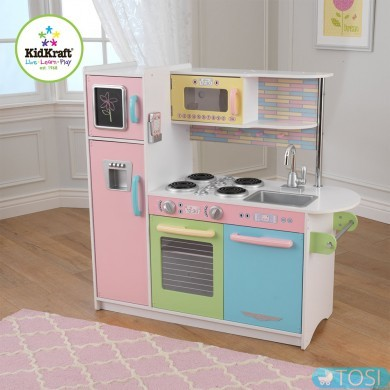 Детская кухня KidKraft Uptown Pastel 53257