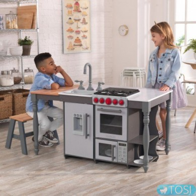 Детская кухня Kidkraft Chef's Cook N Create Island 53420