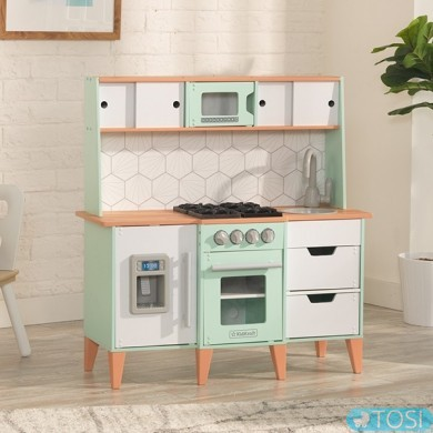 Детская кухня Kidkraft Mid-Century Modern 53432