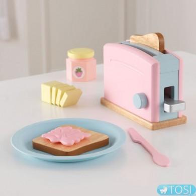 Тостер Kidkraft Toaster Set Pastel 63374