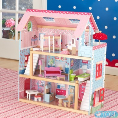 Кукольный домик  KidKraft Chelsea Doll Cottage 65054