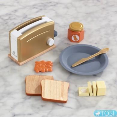 Детский тостер Modern Metallics KidKraft 53536