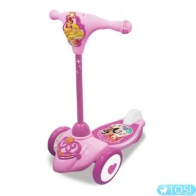 Скутер – самокат Kiddieland Принцессы Disney с музыкой и световыми эффектами