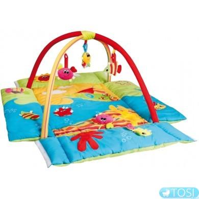 """Развивающий коврик Canpol babies """"Цветной океан"""" (3 в 1)"""