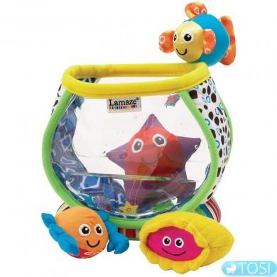 """Развивающая игрушка для малышей """"Аквариум с рыбками"""" Lamaze"""