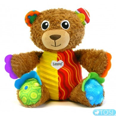 """Развивающая игрушка для малышей """"Мишка Тедди"""" Lamaze"""