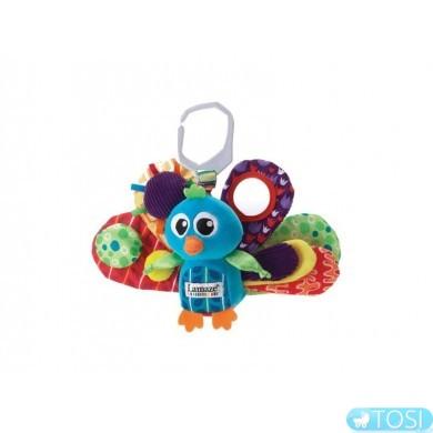 """Развивающая игрушка для малышей """"Павлин"""" Lamaze"""