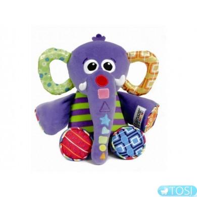 """Развивающая музыкальная игрушка для малышей """"Слоненок"""" Lamaze"""