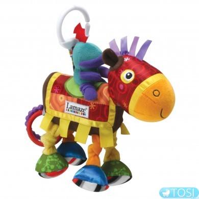 """Развивающая игрушка для малышей """"Рыцарский конь"""" Lamaze"""