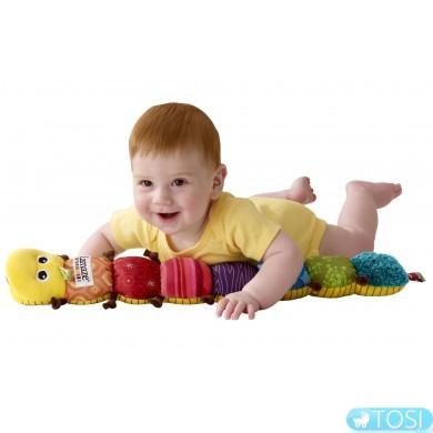 """Развивающая музыкальная игрушка для малышей """"Гусеничка"""" Lamaze"""