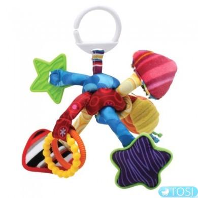 """Развивающая подвесная игрушка для малышей """"Узелок"""" Lamaze"""