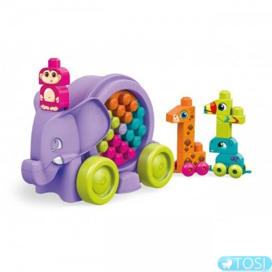 Конструктор Mega Bloks Розовый слоненок