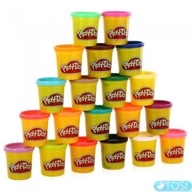Набор из 20 баночек Play-Doh