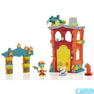 Игровой набор Play-Doh Пожарная станция