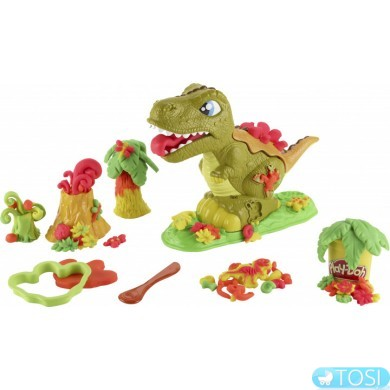 Игровой набор Hasbro Play Doh Могучий Динозавр E1952
