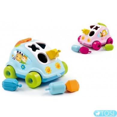 """Игрушка для развития Smoby """"Cotoons"""" машинка с формами, 2 вида"""