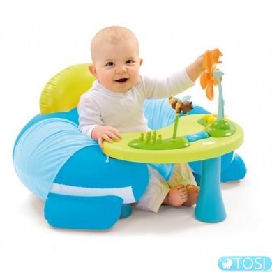 Надувной стульчик со столиком Cotoons Smoby 110201