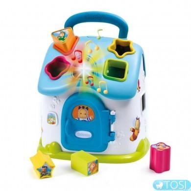 Развивающая игрушка Домик-сортер Cotoons  Smoby 110401