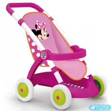 Коляска прогулочная для куклы Smoby Minnie Mouse 254033