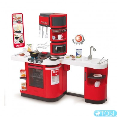 Интерактивная кухня Smoby  Master Rouge 311100