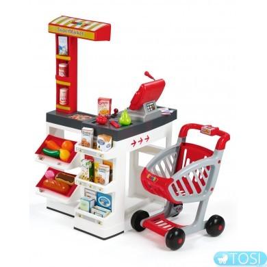 Интерактивный супермаркет с тележкой Smoby 350203