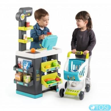 Интерактивный супермаркет Smoby Market 350212
