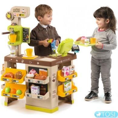 Интерактивная кофейня Smoby Coffee House 350214