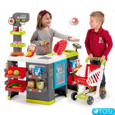 Большой супермаркет Smoby Maxi Market 350215