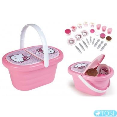 """Набор Smoby """"Hello Kitty"""" для пикника в корзине"""