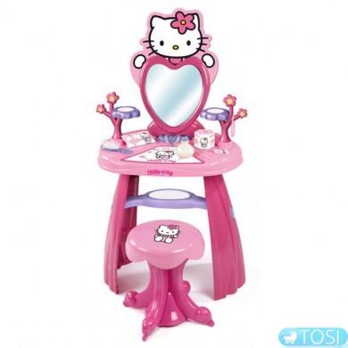 "Столик Smoby ""Hello Kitty"" для девочки с аксес."