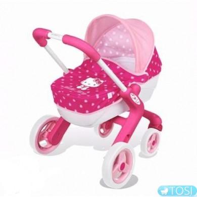 Коляска с люлькою для куклы Hello Kitty  Smoby 511334