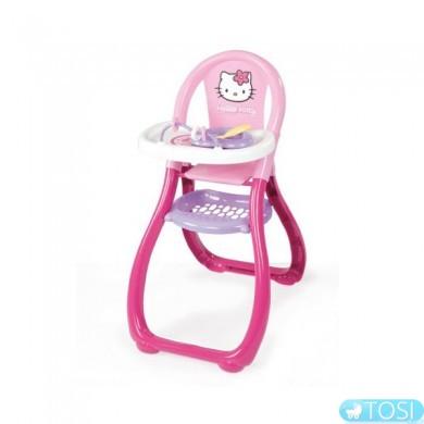 "Стульчик Smoby ""Hello Kitty"" для кормления с посудой"