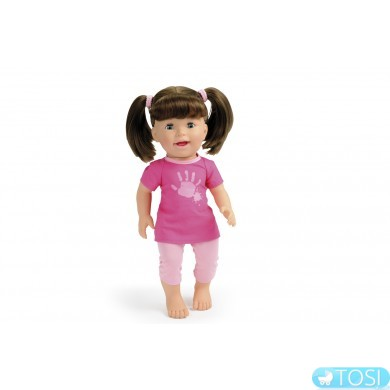"""Интерактивная кукла Smoby """"Моя маленькая Лили"""", которая смеется и показывает язычок"""