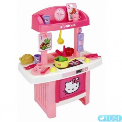 """Моя первая кухня Smoby """"Hello Kitty"""" с аксес."""