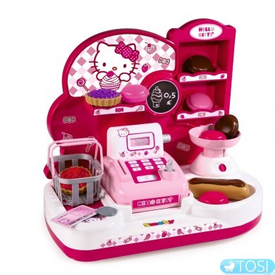 Кассовый Аппарат с аксессуарами Hello Kitty Smoby