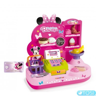 Кассовый аппарат с аксессуарами Minnie Smoby