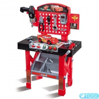 """Мастерская инструментов с машинкой игрушечная """"Тачки2 Cars"""" Smoby"""