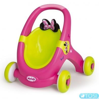 "Ходунки Коляска для куклы  ""Minnie Mouse"" Smoby"