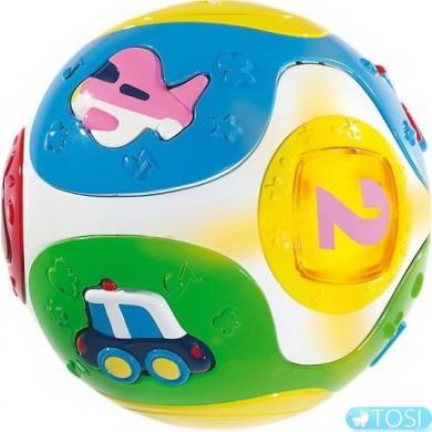 Мяч со звуковым и световым эффектами Simba