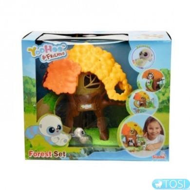 Игровой набор Юху домик в лесу Simba