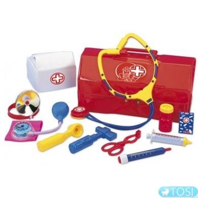 Набор доктора на 12 предметов в чемоданчике Simba