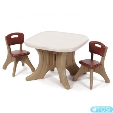 Столик со стульями Step2 8968