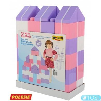 Конструктор строительный Wader - Polesie XXL 36 эл