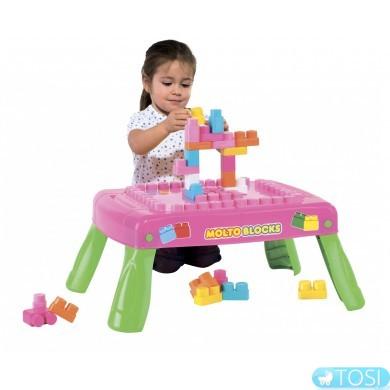 Игровой столик с конструктором Polesie 58010