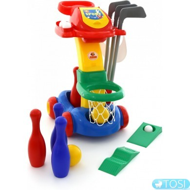Игровой набор Баскетбол, гольф, боулинг Polesie 54531